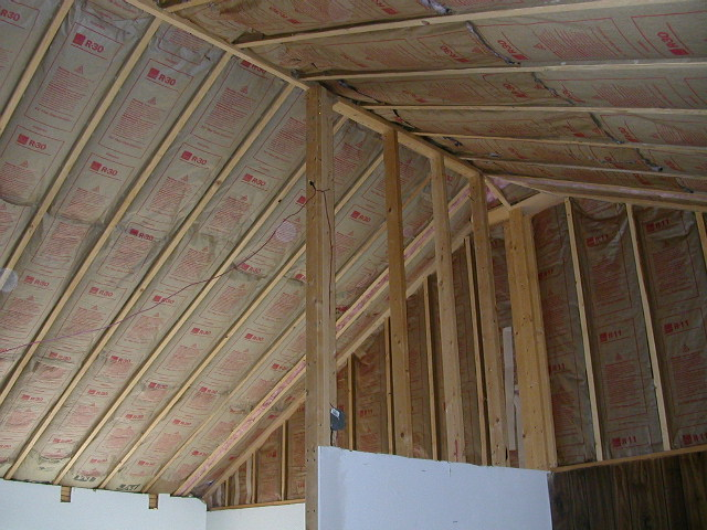 insulation in rafters